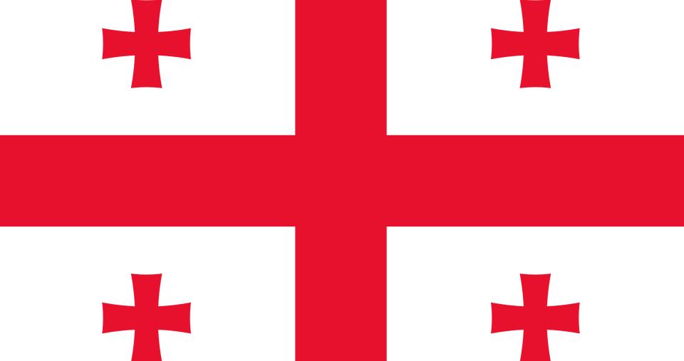 Грузинский (мегрельский язык - наречие) flag