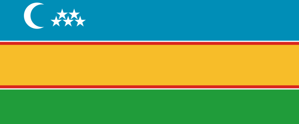 Каракалпакский  flag