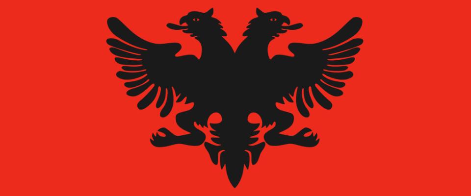 Албанский  flag