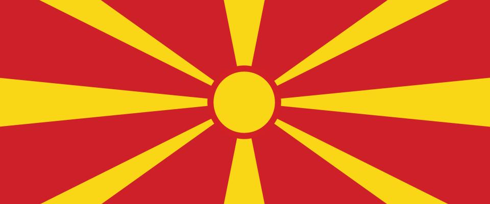 Македонский  flag
